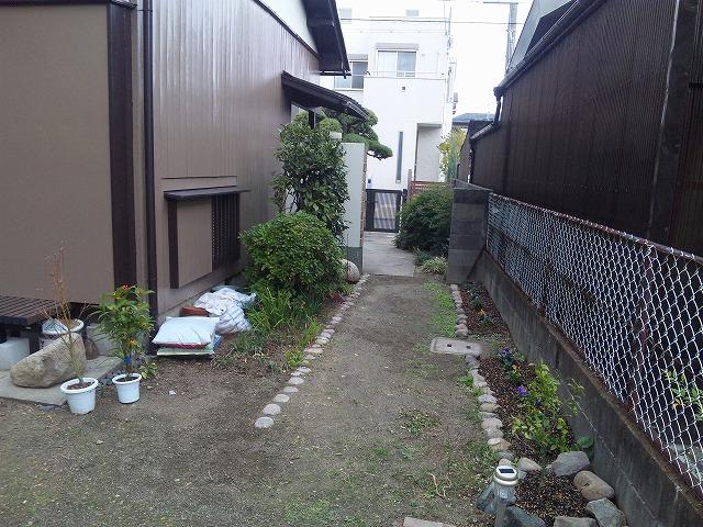 Before/兵庫県伊丹市 造園 エクステリア